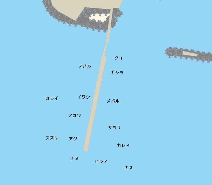 姫路遊魚センターポイント図