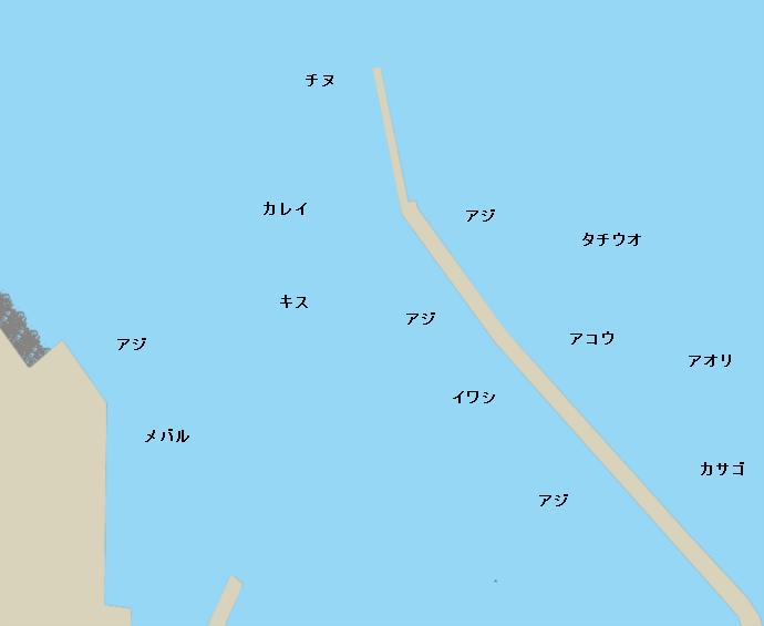 今治港ポイント図