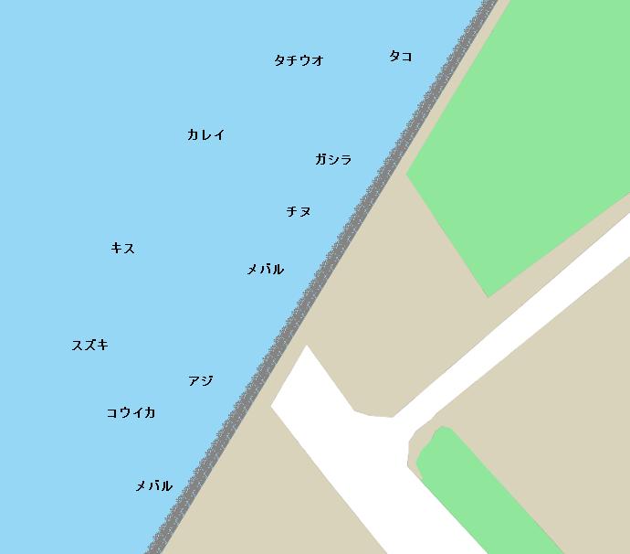 堺泉北港のポイント