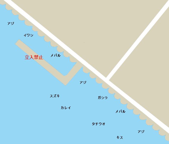 泉佐野食品コンビナートポイント図