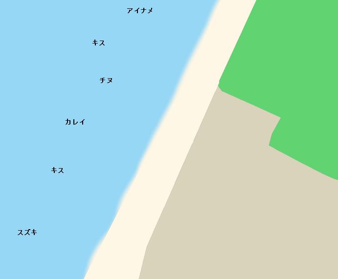 慶野松原ポイント図