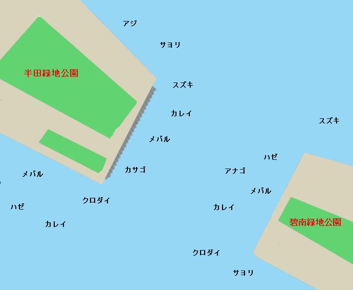 衣浦海底トンネルポイント図