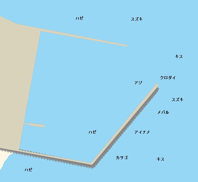 河和港ポイント図