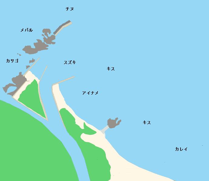 久美浜ポイント図