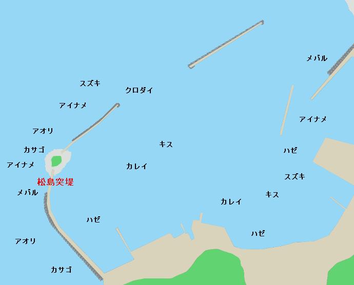 倉舞港ポイント図