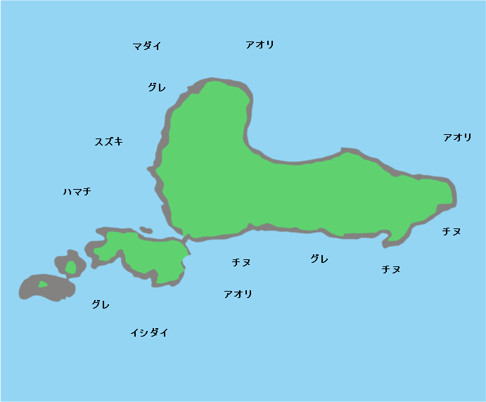 衣奈黒島ポイント図