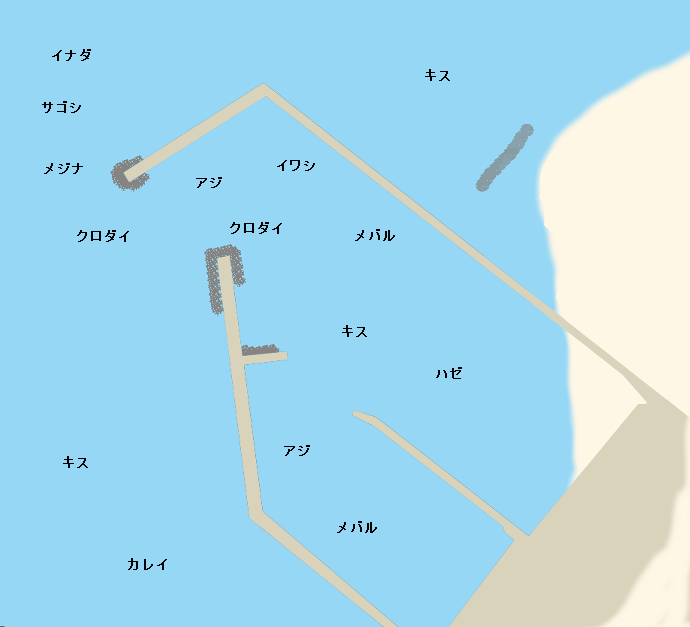 巻港ポイント図