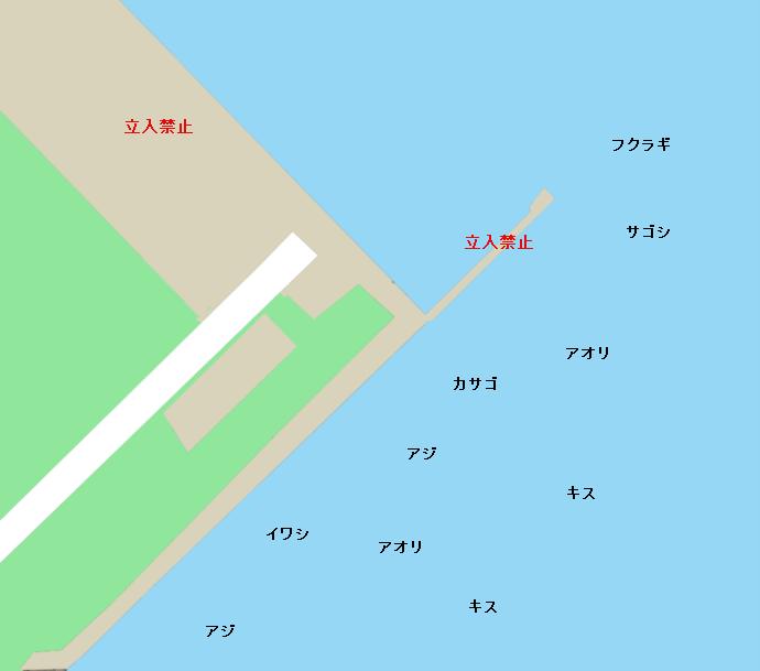 万葉埠頭ポイント図
