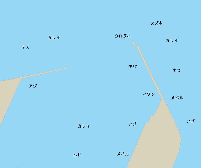 松阪港ポイント図