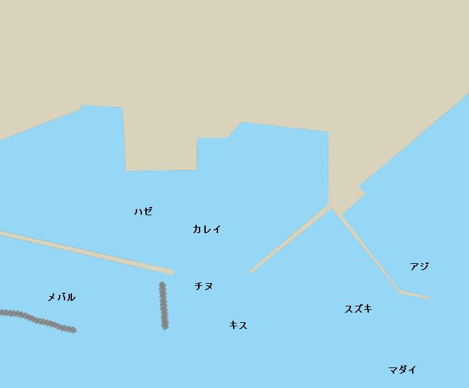 女木島東浦のポイント