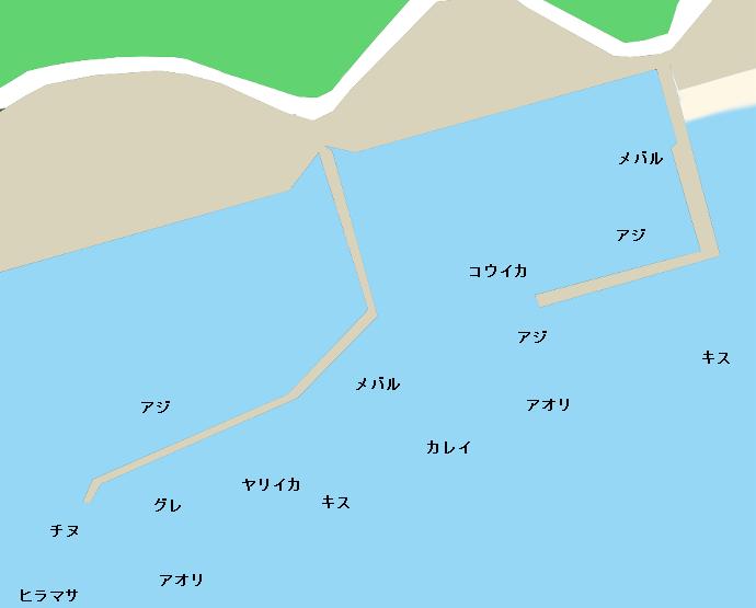 七類港ポイント図