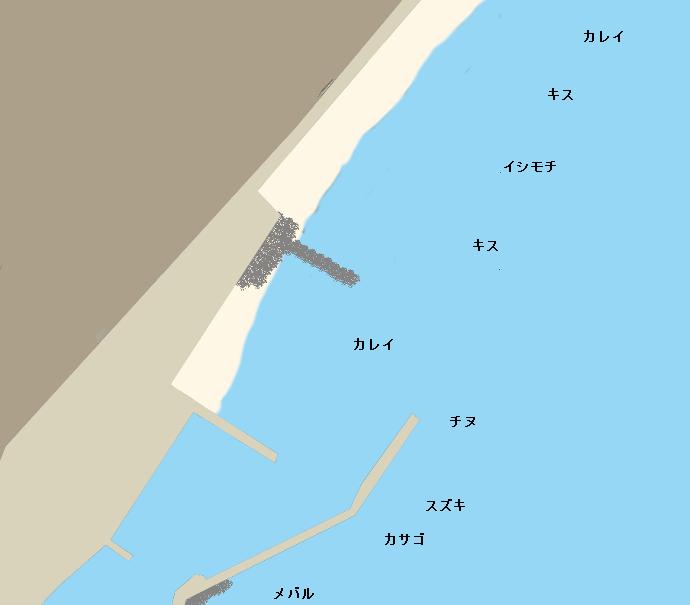 西脇海海岸ポイント図