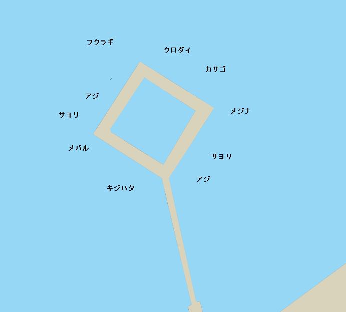 のとじま臨海公園ポイント図