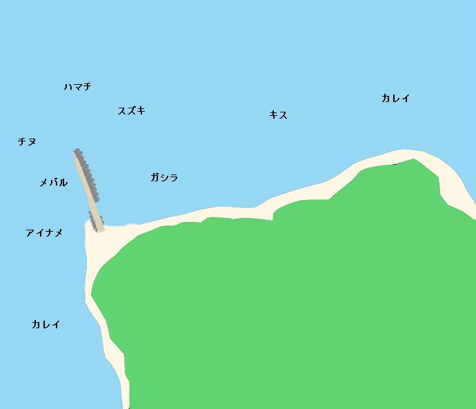 成ヶ島のポイント
