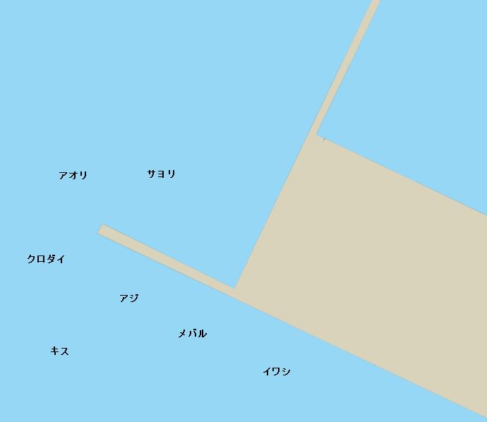 小浜港のポイント1