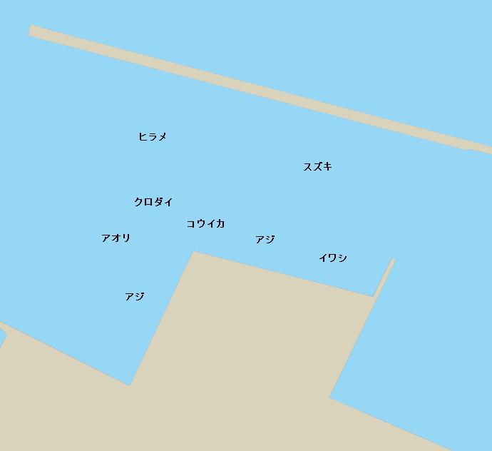 小浜港のポイント2
