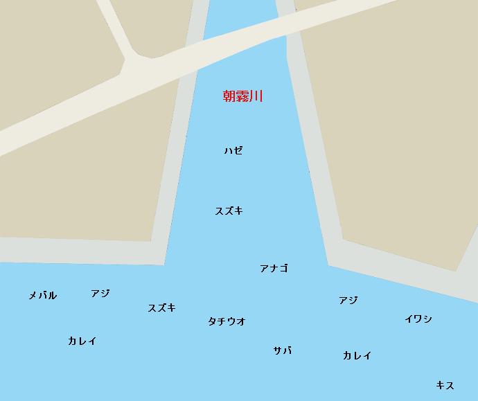 大蔵海岸ポイント図