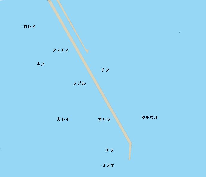 神鋼ケーソンポイント図