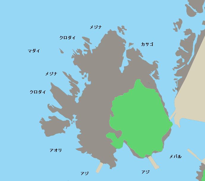 城島公園ポイント図