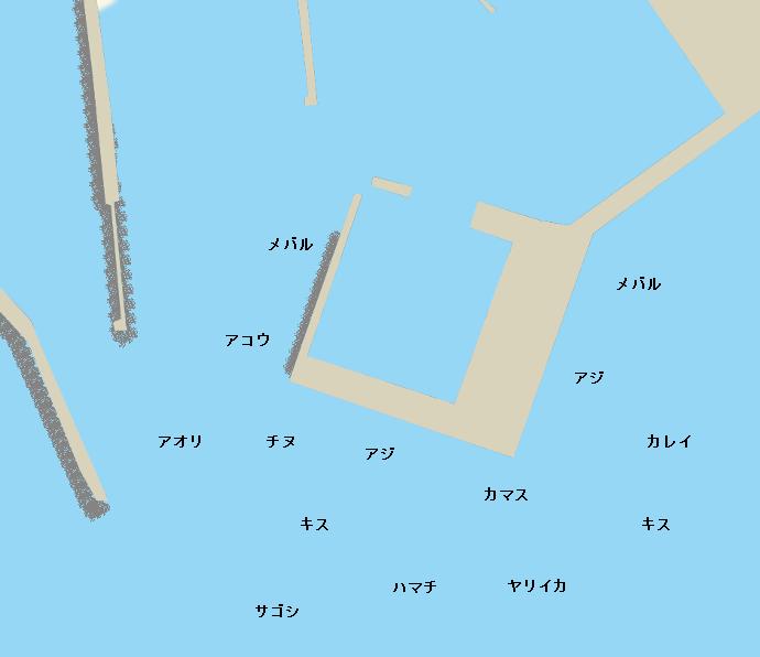 大社築港ポイント図