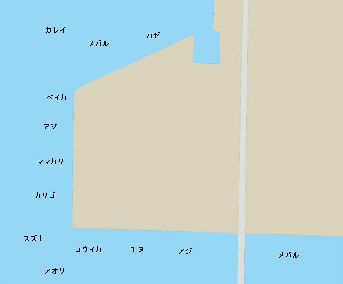 玉島E地区ポイント図