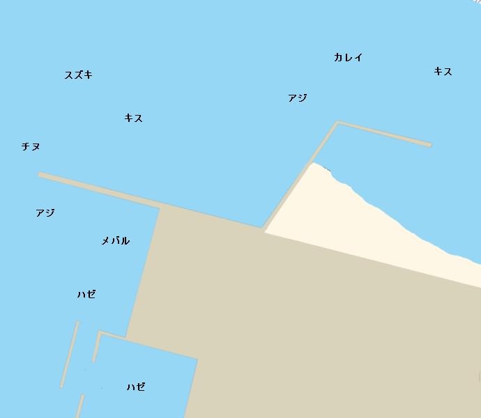 愛宕浜周辺のポイント