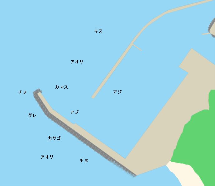 手結港ポイント図