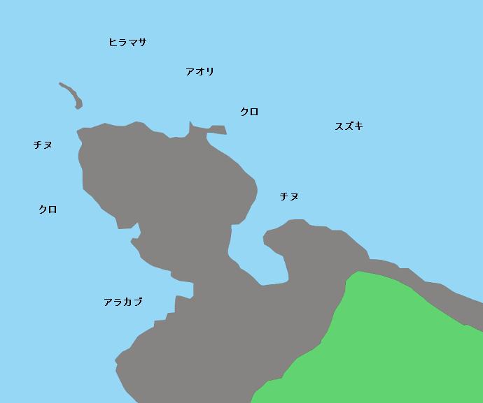 トリカ崎ポイント図
