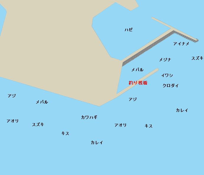 豊浜新港ポイント図