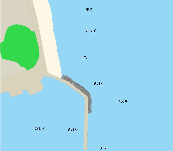 牛窓海水浴場周辺のポイント