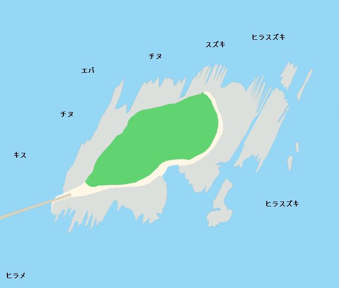青島ポイント図