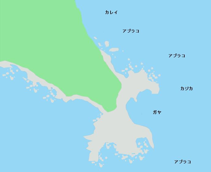 襟裳岬ポイント図