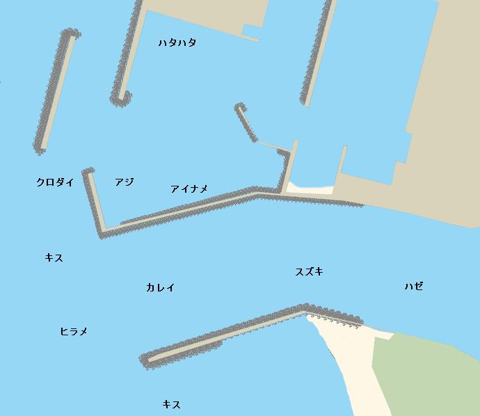 本荘マリーナポイント図
