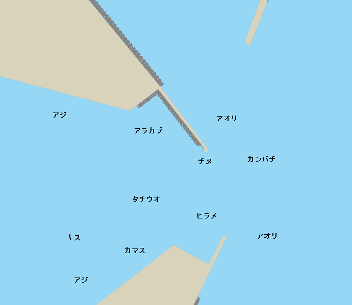 鹿児島新港ポイント図