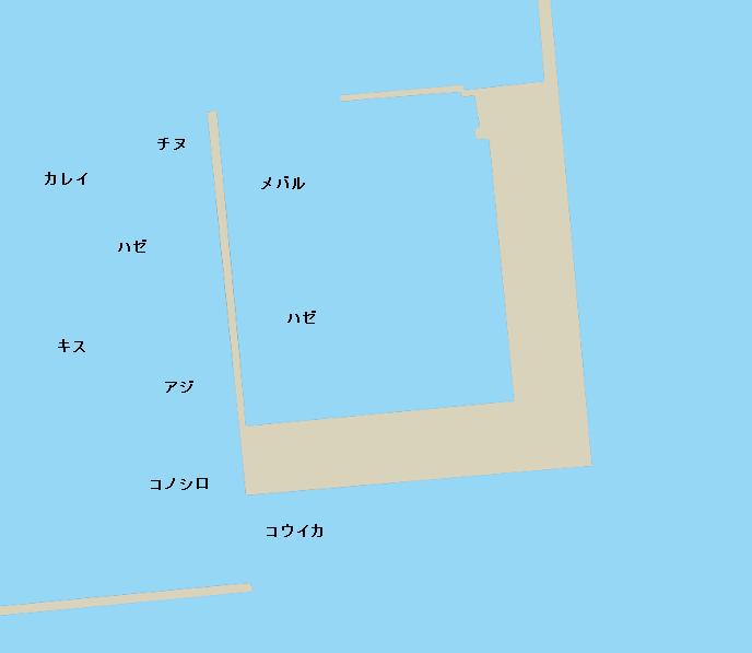 熊本新港ポイント図