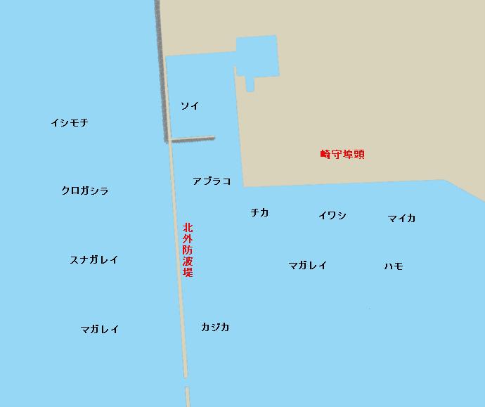 室蘭港北外防波堤・崎守埠頭