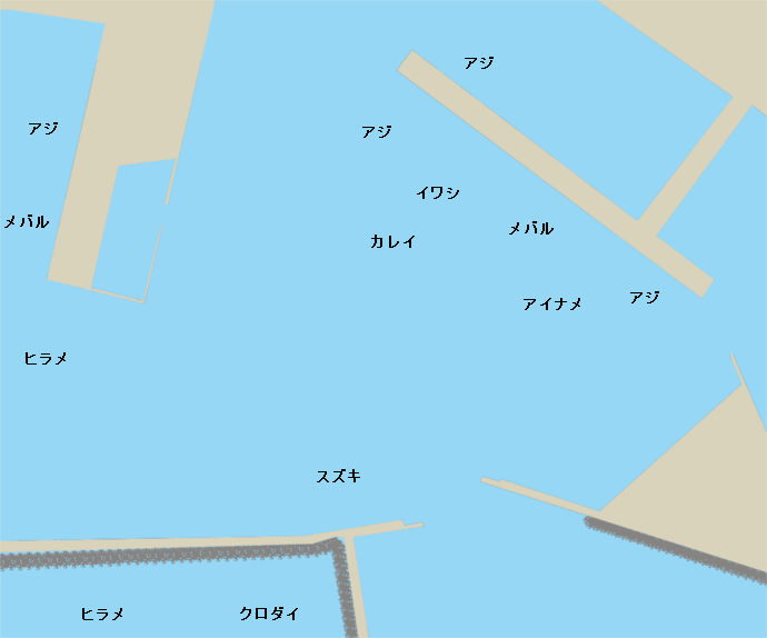 小名浜港ポイント図