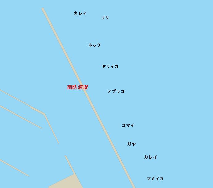 小樽港南防波堤のポイント