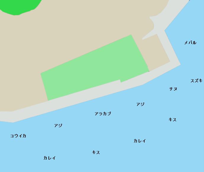 三角東港ポイント図