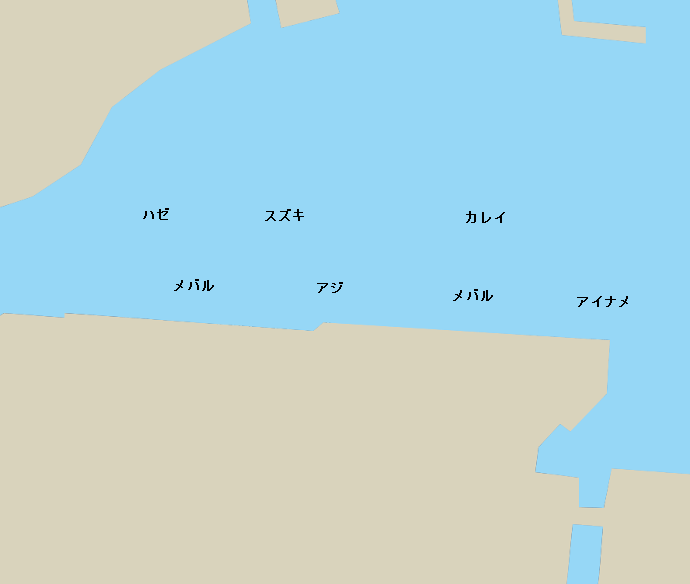 塩釜港ポイント図