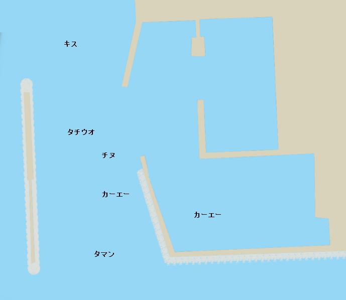 与根漁港ポイント図