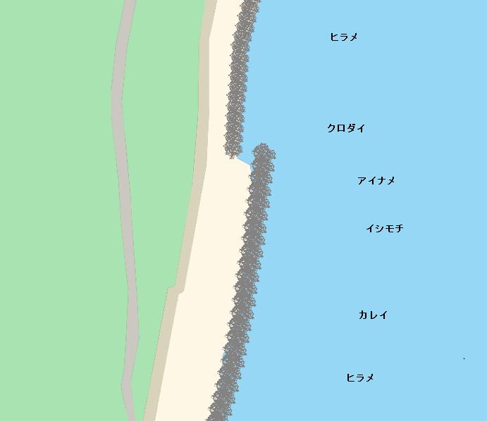 海老浜ポイント図