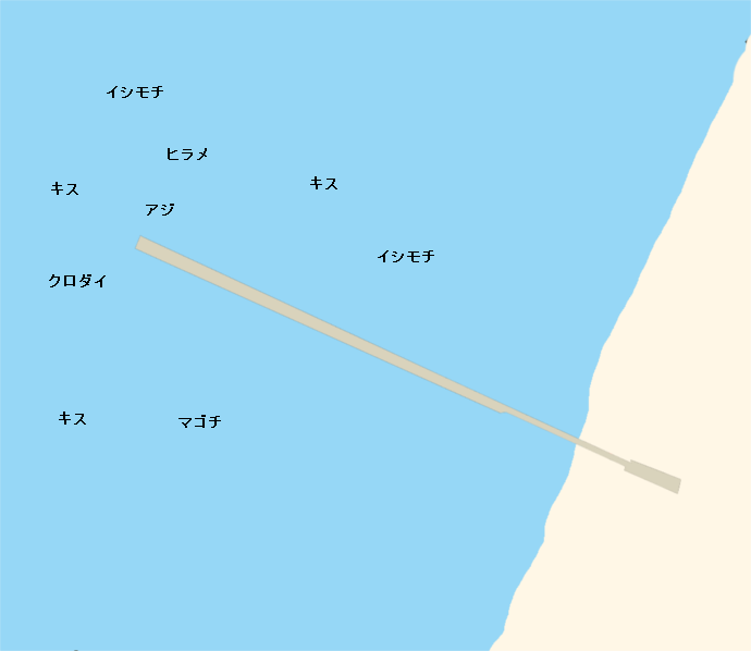 原岡桟橋ポイント図
