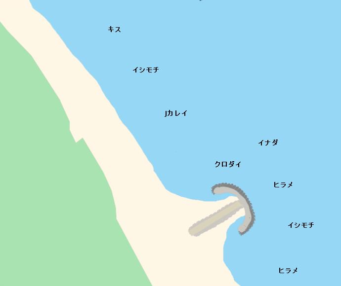 波崎海岸ポイント図
