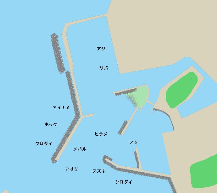 金浦港ポイント図