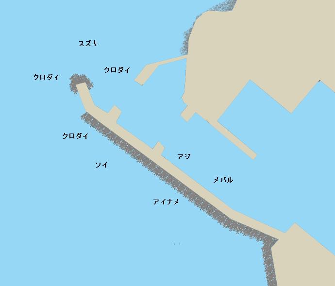 小潤分港ポイント図
