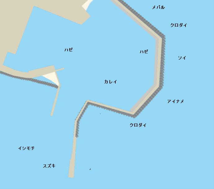 会瀬港ポイント図