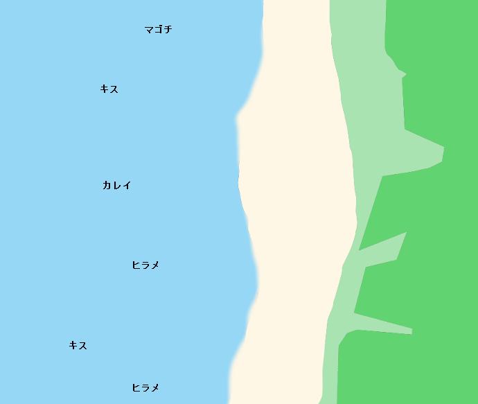 下浜ポイント図