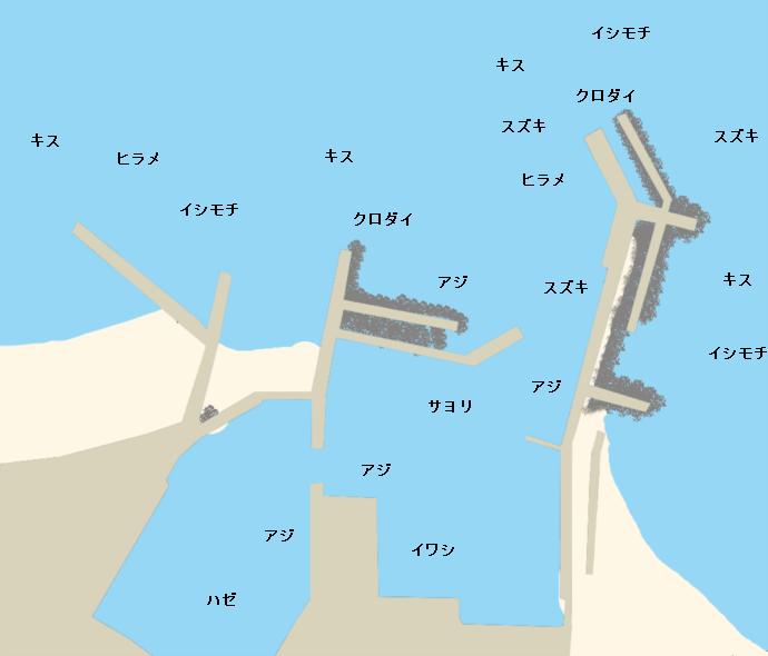 太東港ポイント図