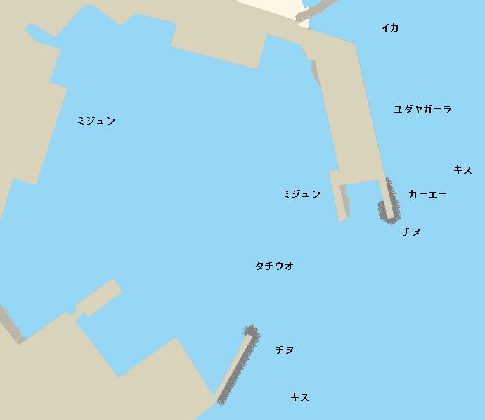 馬天港ポイント図